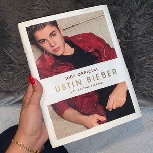Justin Bieber Just Getting Started Hardcover Book